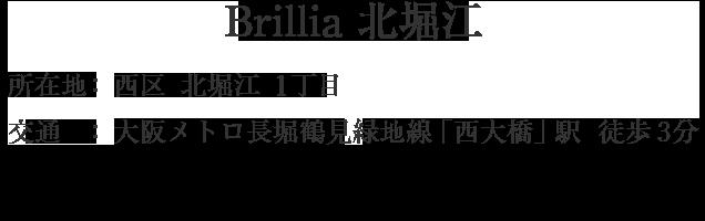 大阪府大阪市西区北堀江1丁目・「西大橋」駅 徒歩3分