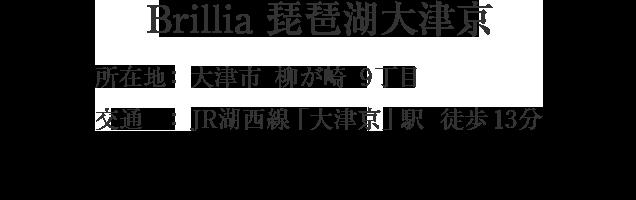 滋賀県大津市柳が崎・「大津京」駅 徒歩13分