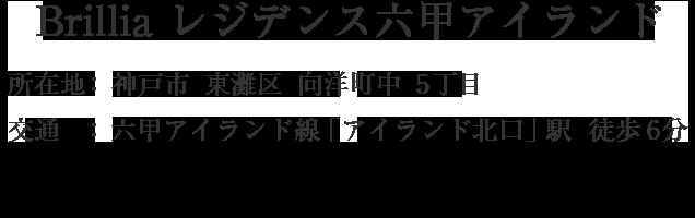兵庫県神戸市東灘区向洋町中5丁目・「アイランド北口」駅 徒歩6分