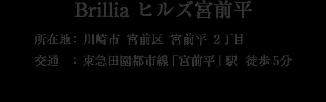 神奈川県川崎市宮前区宮前平2丁目・「宮前平」駅 徒歩5分