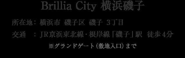 BrilliaCity横浜磯子・横浜市磯子区磯子3丁目・「磯子」駅 徒歩4分