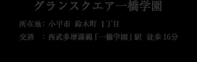 東京都小平市鈴木町1丁目・「一橋学園」駅 徒歩16分