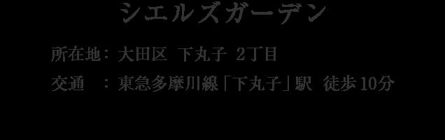 東京都大田区下丸子2丁目・「下丸子」駅 徒歩10分