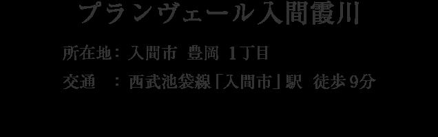 埼玉県入間市豊岡1丁目・「入間市」駅 徒歩9分