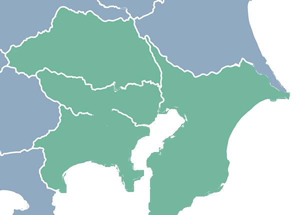 検索地域マップ(関東)